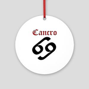 Cancro Round Ornament