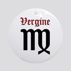 Vergine Round Ornament