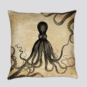 Vintage Octopus Master Pillow
