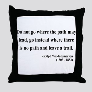 Ralph Waldo Emerson 3 Throw Pillow