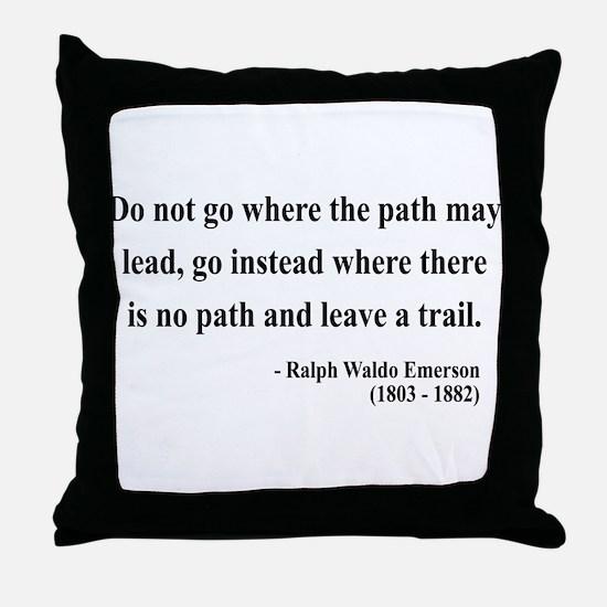 Ralph Waldo Emerson 3 Throw Pillow