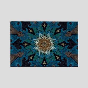 Damascus Art Mandala Magnets