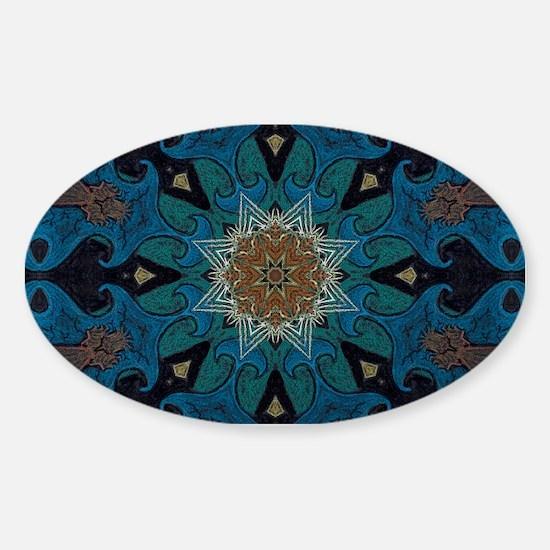 Damascus Art Mandala Decal