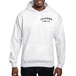USS INTREPID Hooded Sweatshirt