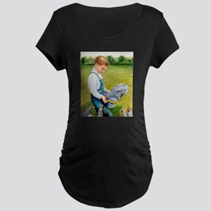 Feeding Time Maternity T-Shirt