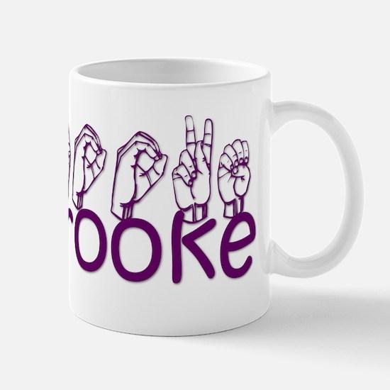 Brooke Mugs