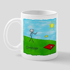 Stick Person (Cornholer) Mug