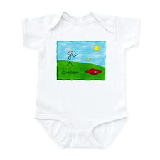 Stick Person (Cornholer) Infant Bodysuit