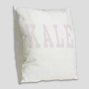 Kale 3 Burlap Throw Pillow