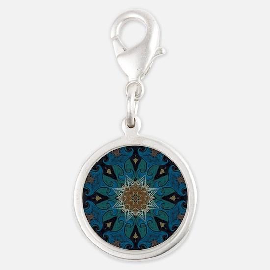 Damascus Art Mandala Charms