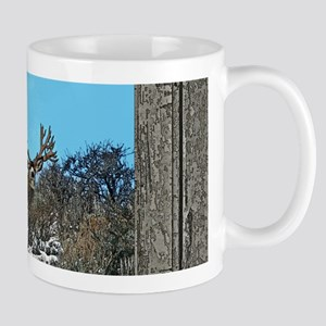 Old Cabin Window Monster buck 7 Mug