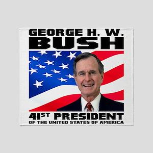 41 Bush Throw Blanket