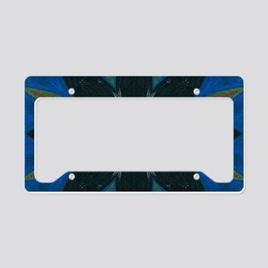 Solstice Art Mandala License Plate Holder