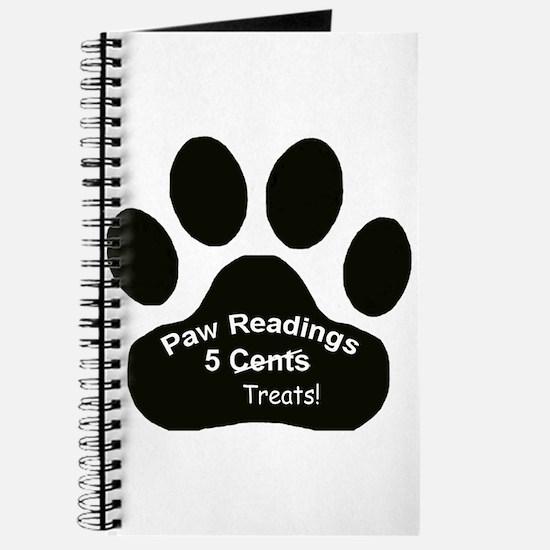 Paw Readings...5 Treats Journal