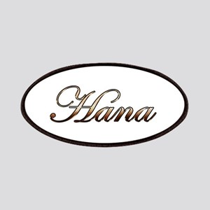 Gold Hana Patches