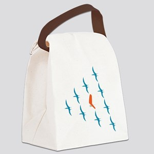 Pterogliding Canvas Lunch Bag