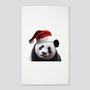 Christmas Panda Bear Area Rug