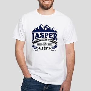 Jasper Vintage White T-Shirt