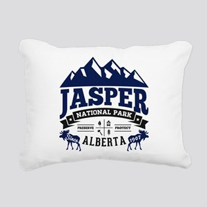Jasper Vintage Rectangular Canvas Pillow