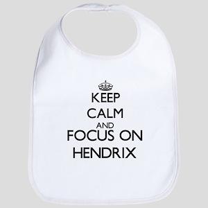 Keep calm and Focus on Hendrix Bib