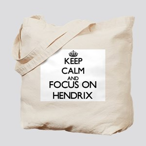 Keep calm and Focus on Hendrix Tote Bag