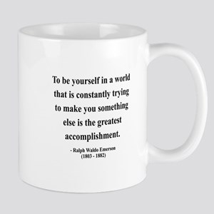 Ralph Waldo Emerson 4 Mug