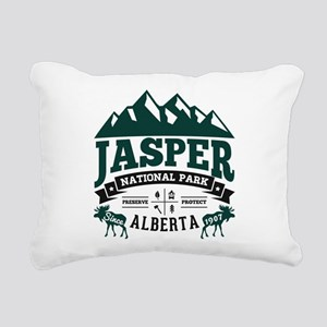 Jasper Vintage Rectangular Canvas Pillow
