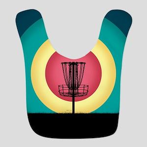 Disc Golf Basket Silhouette Bib