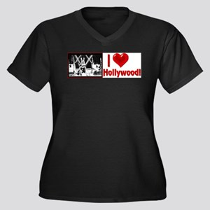 I Love Hollywood Plus Size T-Shirt