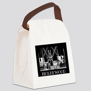 Old Hollywood Canvas Lunch Bag