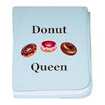 Donut Queen baby blanket