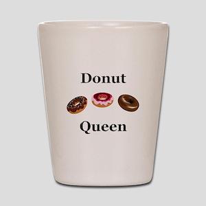 Donut Queen Shot Glass