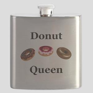 Donut Queen Flask