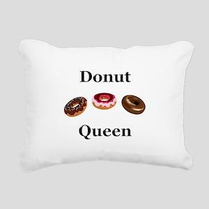 Donut Queen Rectangular Canvas Pillow