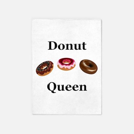 Donut Queen 5'x7'Area Rug
