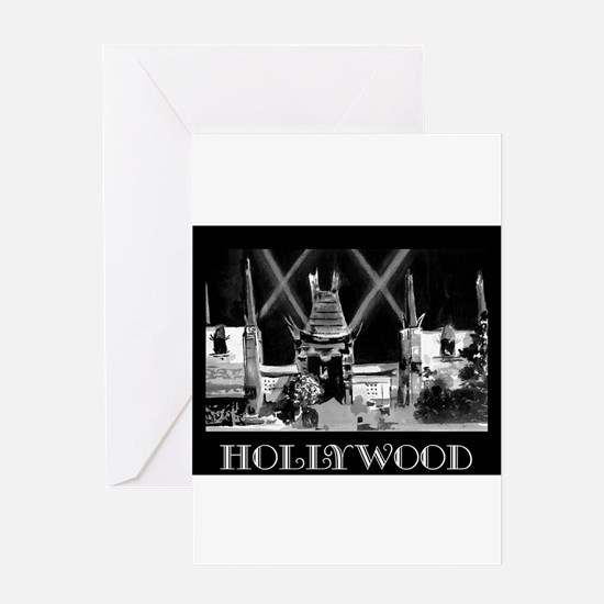 Hollywood! Greeting Cards