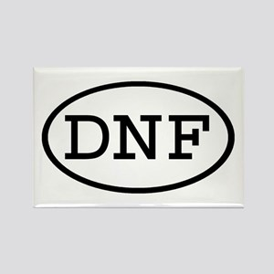 DNF Oval Rectangle Magnet