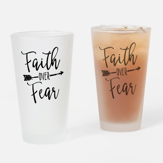 Unique Christian faith Drinking Glass