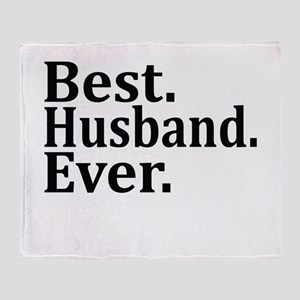Best Husband Ever. Throw Blanket