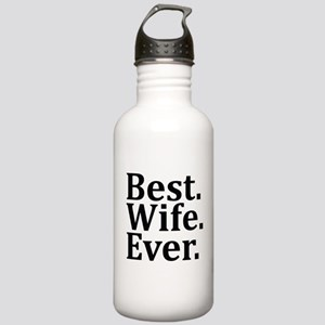 Best Wife Ever Water Bottle