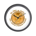 En ORO se Confio on Wall Clock