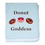 Donut Goddess baby blanket