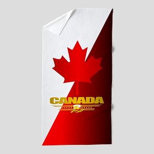 Canada Maple Leaf Beach Towel