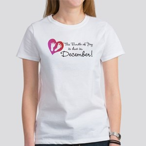This Bundle of Joy is Due in (Write Month) T-Shirt