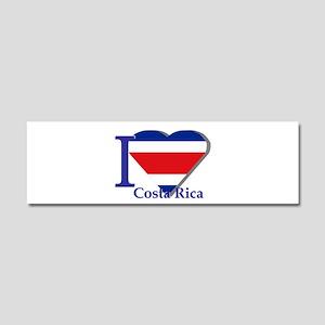 I love Costa Rica Car Magnet 10 x 3