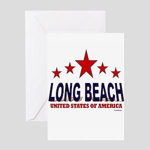 Long Beach U.S.A. Greeting Card