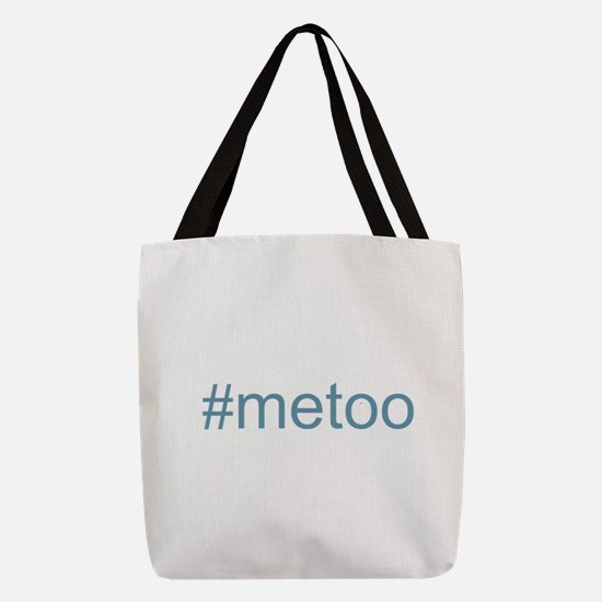 metoo w Hashtag Polyester Tote Bag