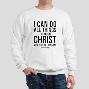 Philippians 4:13 Sweatshirt