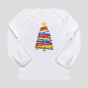 Colorful Christmas Tree Long Sleeve T-Shirt