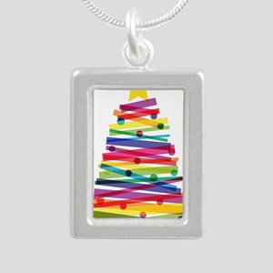 Colorful Christmas Tree Necklaces